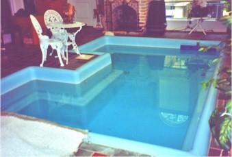 Fiberglass Indoor Swimming Pools