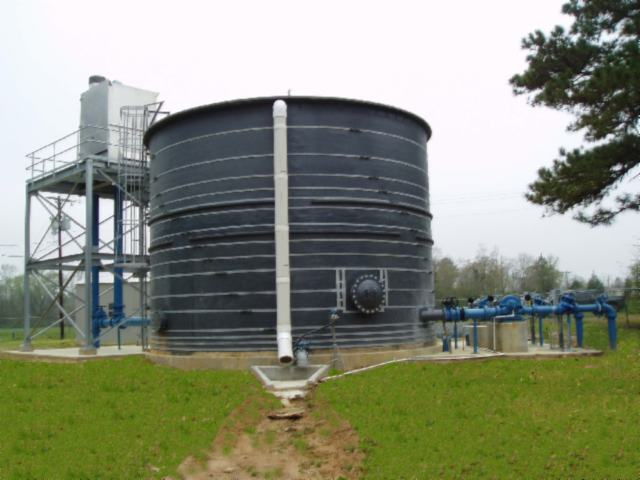Fiberglass Chemical Tanks - 65,000 gallons - Plus 50,000 gallons