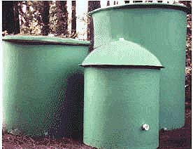 fiberglass water storage tanks - 120, 260, 600 gallons - 3